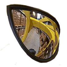 Espejo panorámico para vehículos industriales